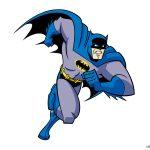 Dibujo de Batman corriendo