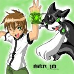 Dibujo de Ben 10 y Ditto