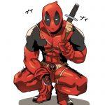 Dibujo de Deadpool para imprimir