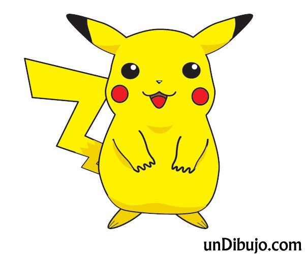 Dibujo de Pikachu para Imprimir