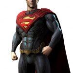Dibujo de Superman Enojado
