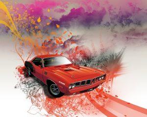 Auto americano clasico